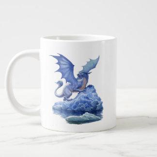 Caneca do jumbo do dragão do gelo