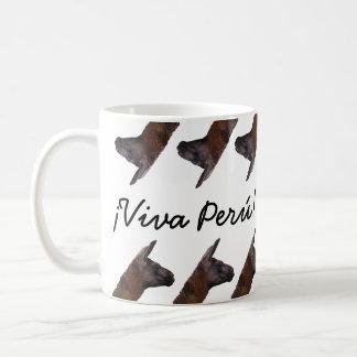 Caneca do lama de Viva Perú