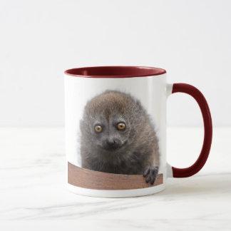 Caneca do Lemur do bebê