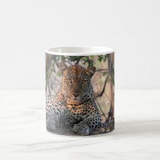 Caneca do leopardo