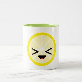 Caneca do limão de Emoji