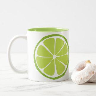 Caneca do limão do citrino do verão