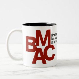 Caneca do logotipo de BMAC