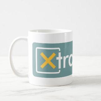 Caneca do logotipo de XtraMath grande
