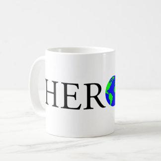 Caneca do logotipo do HERÓI