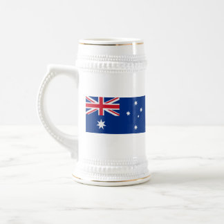 Caneca do mapa do ~ da bandeira de Austrália