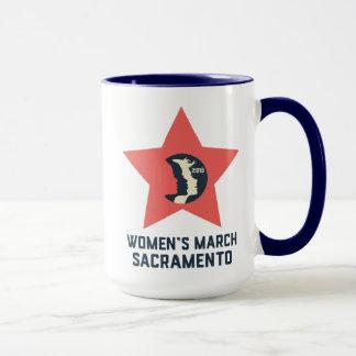 Caneca do março Sacramento das mulheres