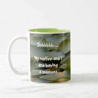 Caneca do momento do café