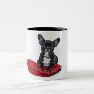Caneca do Natal de Boston Terrier