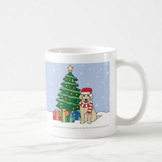 Caneca do Natal de labrador retriever