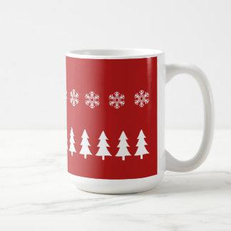 Caneca do Natal do país das maravilhas do inverno
