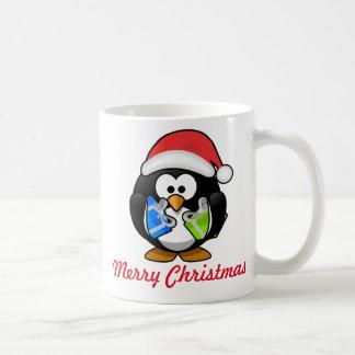 Caneca do Natal do pinguim