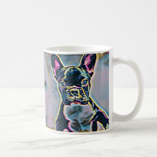 Caneca do néon de Boston Terrier