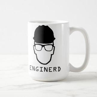 Caneca do nerd da engenharia de Enginerd