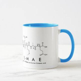 Caneca do nome do peptide de Gracie-Mae