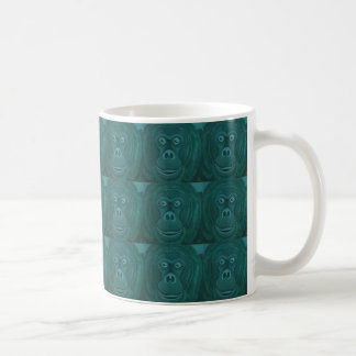Caneca do orangotango de Forest Green