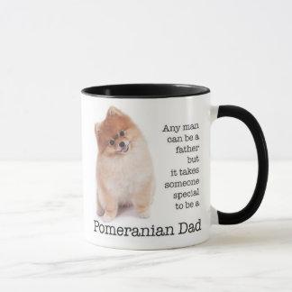 Caneca do pai de Pomeranian