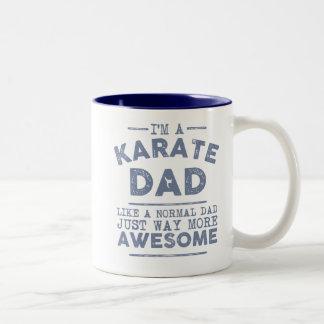 Caneca do pai do karaté (azul)