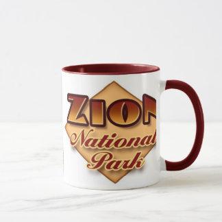 Caneca do parque nacional de Zion