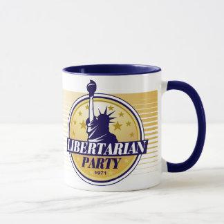 Caneca do partido do libertário