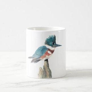 Caneca do pássaro da aguarela: Martinho pescatore