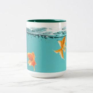 Caneca do peixe dourado