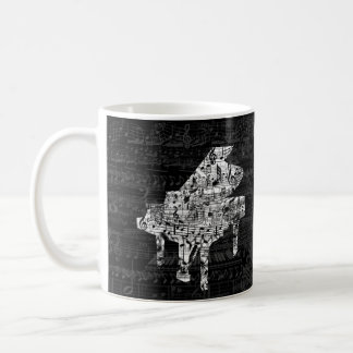 caneca do piano