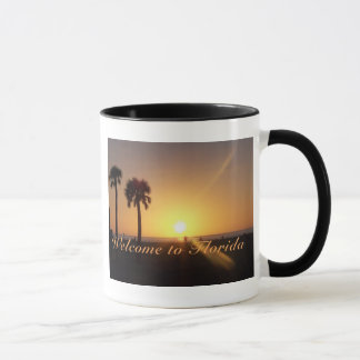 Caneca do por do sol de Florida