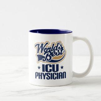 Caneca do presente da apreciação do médico de ICU