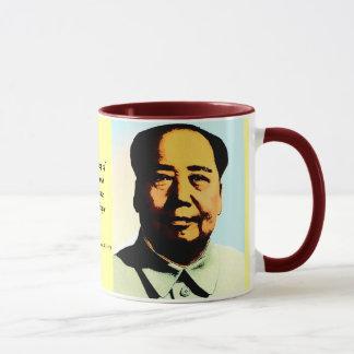 Caneca do presente das citações de Mao