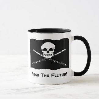 Caneca do presente do pirata da flauta