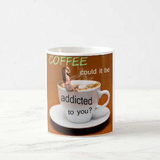 Caneca do presente do viciado do café