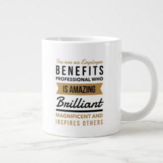 Caneca do profissional dos benefícios