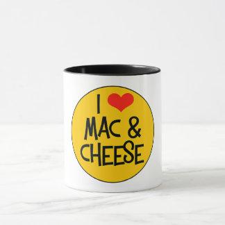 Caneca do queijo do Mac n