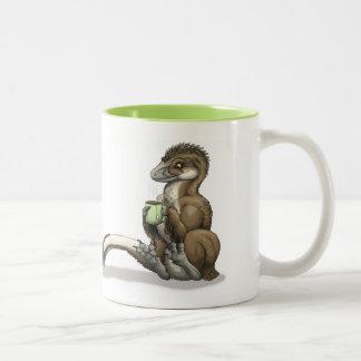Caneca do raptor do chá