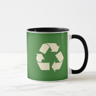 Caneca do reciclar