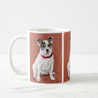 Caneca do retrato de Jack Russell Terrier