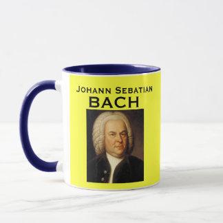 Caneca do retrato de Johann Sebastian Bach