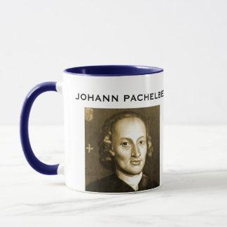 Caneca do retrato de Pachelbel