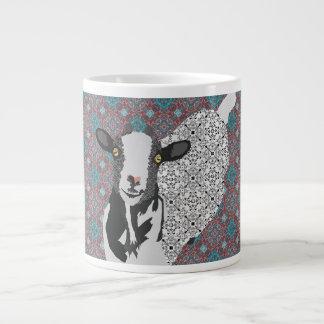 Caneca do roxo da arte de Junebug Jumbo Mug