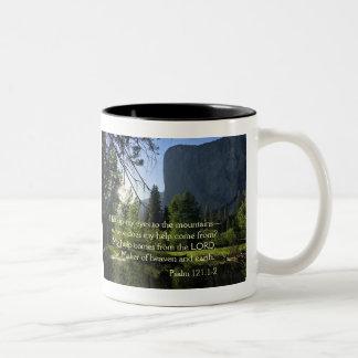 Caneca do salmo de Yosemite