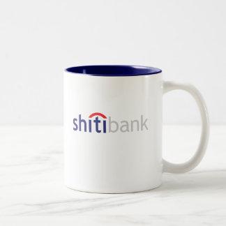 caneca do shitibank o banco o mais mudo no mundo