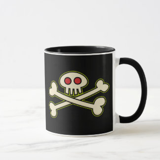 Caneca do símbolo do pirata
