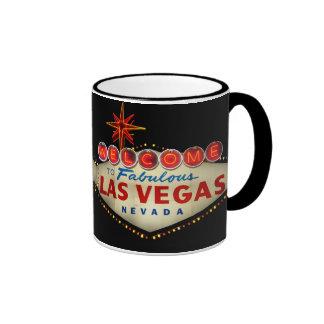Caneca do sinal de Las Vegas