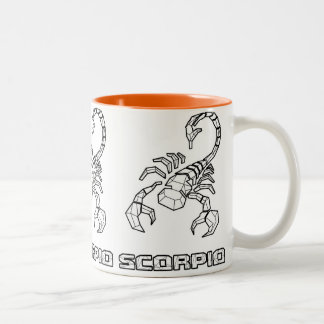 Caneca do sinal do zodíaco: Escorpião