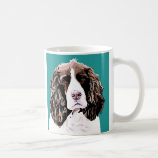 Caneca do Spaniel de Springer