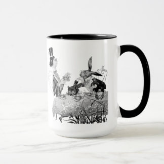 Caneca do tea party do Hatter louco