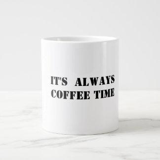 caneca do tempo do café