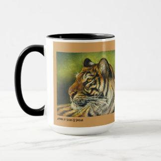 Caneca caneca do tigre de 15 onças
