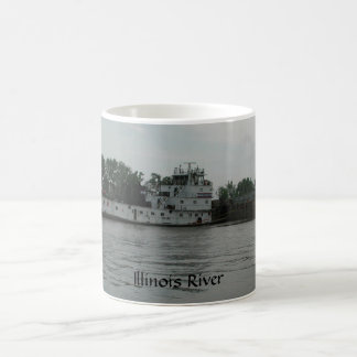 Caneca do Towboat LJ Sullivan do rio de Illinois